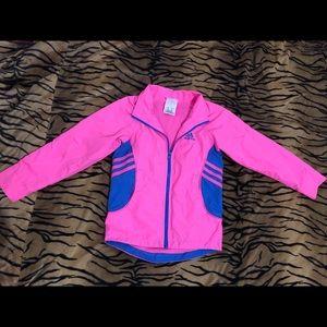 Adidas girls jacket Size 5
